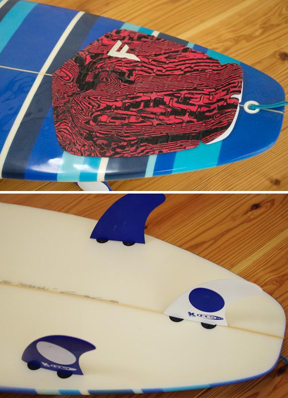 3Dimension LA 中古ショートボード 5`11 fin/tail bno96291056d