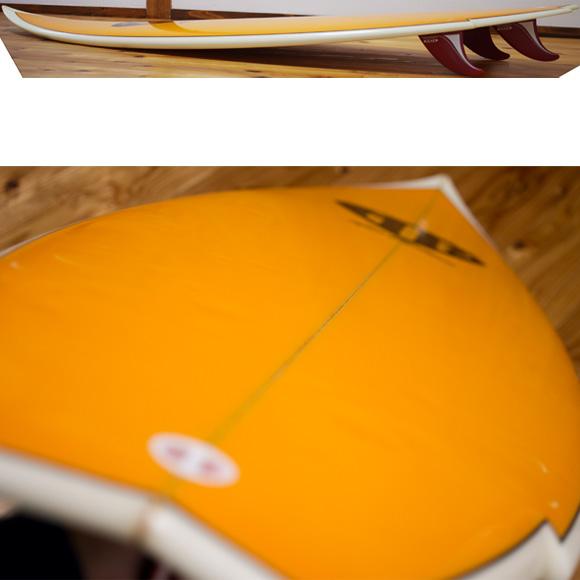 MARK RICHARDS SUPER TWIN 中古ショートボード 5`11 deck-condition bno96291057c