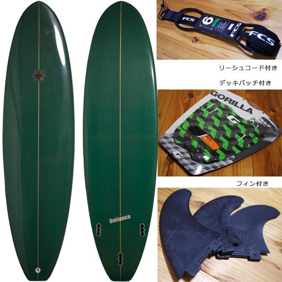 Defiance 中古ファンボード6`6 deck/bottom bno96291059a