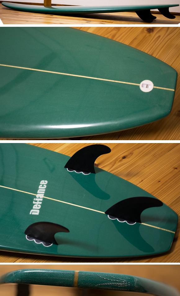 Defiance 中古ファンボード6`6 fin/tail bno96291059c