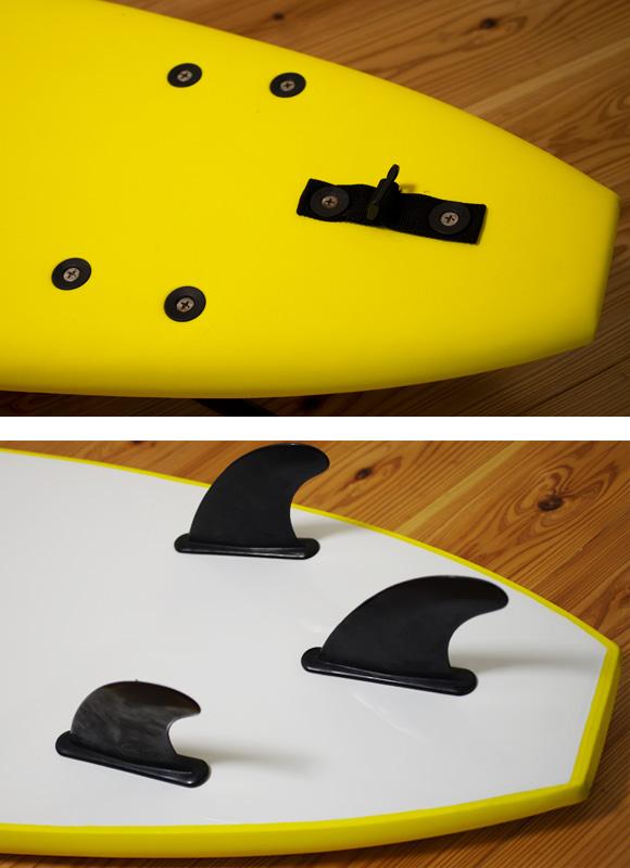 bz ソフトボード 中古ファンボード7`0 fin/tail bno96291060d