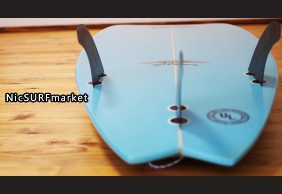 ALMERRIC FLYER-Ⅱ 中古ショートボード 6`0 bottom-design bno96291061im2