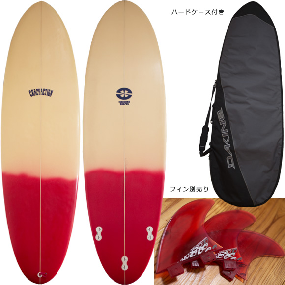 CRAZY ACTION 中古ファンボード 6`8 deck/bottom bno96291065a