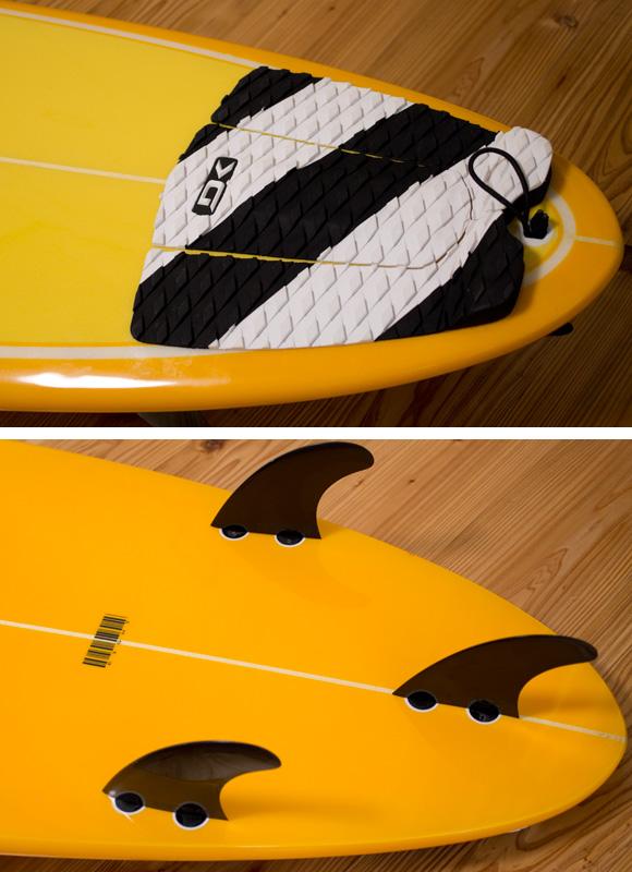 EIGHT 中古ファンボード 7`6 fin/tail bno96291070d