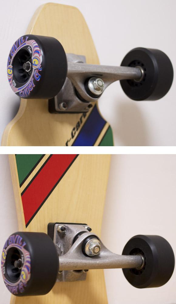 GRAVITY Hyper-Carve 47 トラック 中古スケートボード condition bno96291072b