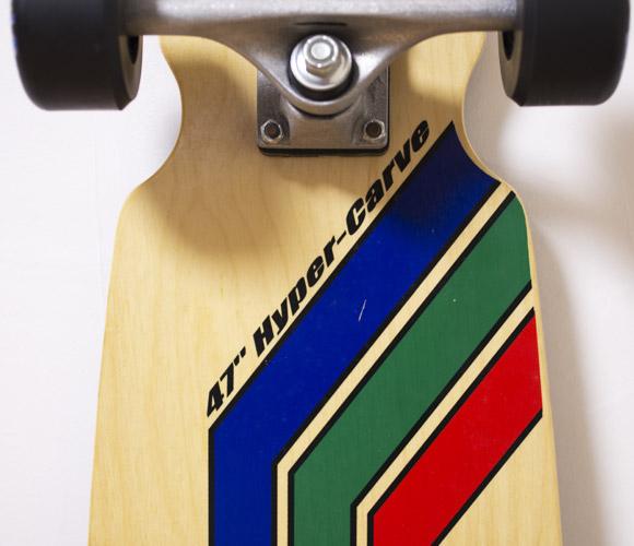 GRAVITY Hyper-Carve 47 ロゴ 中古スケートボード bno96291072c