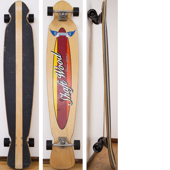 shaft wood 中古スケートボード deck/bottom-detail bno96291073a