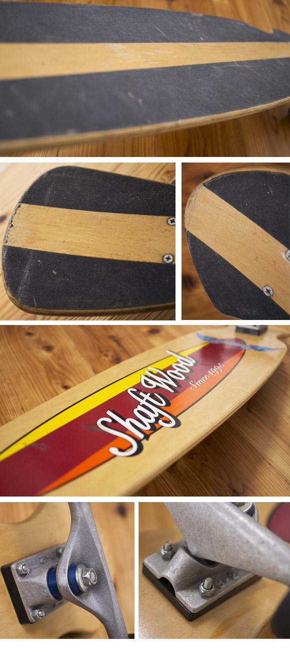 shaft wood 中古スケートボード condition bno96291073c