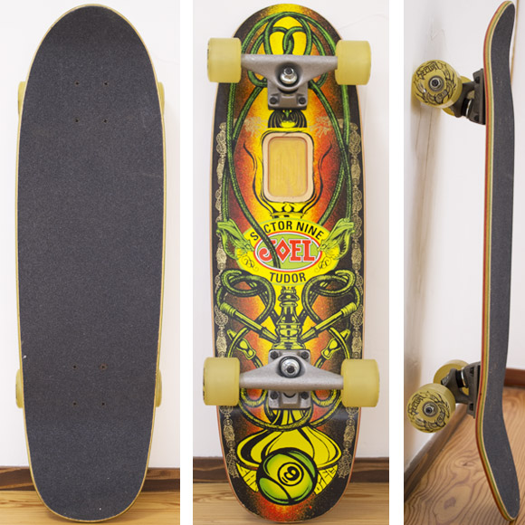 Sector9 中古スケートボード Joel Tudor MiniSeries deck/bottom bno96291074a