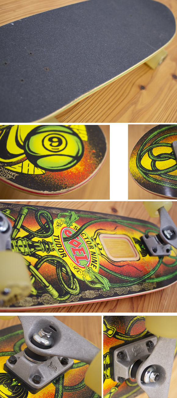 Sector9 中古スケートボード Joel Tudor MiniSeries condition bno96291074c