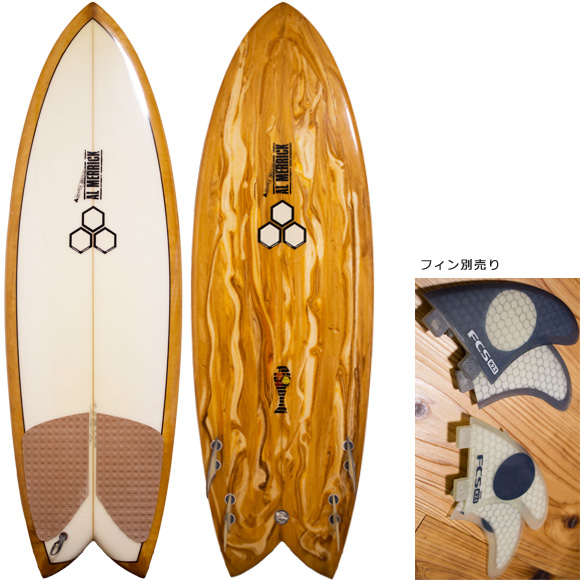 ALMERRIC FISHCUIT 中古ショートボード 5`6 deck/bottom bno96291081a