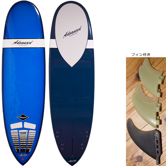 ADVANCED ミニロング6`10 EPOXY deck/bottom bno96291084a