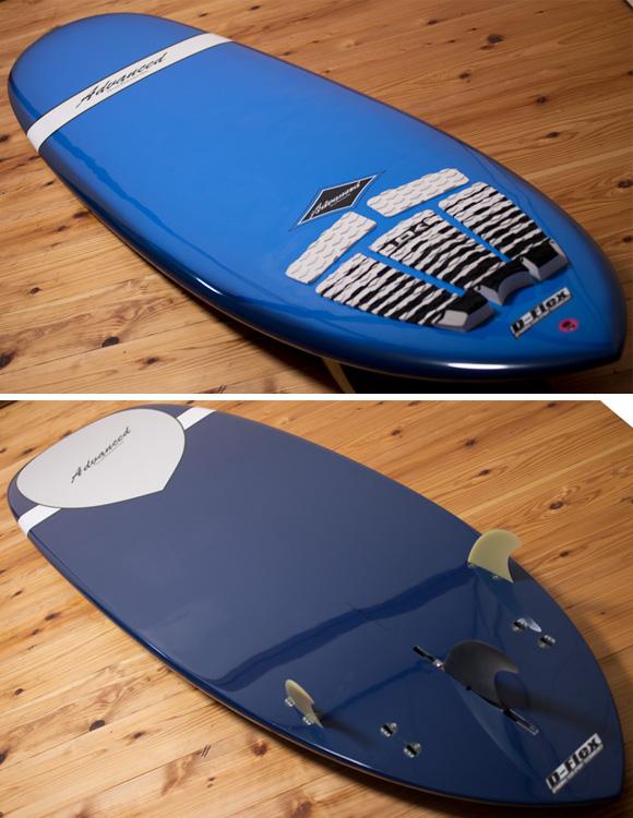 ADVANCED ミニロング6`10 EPOXY deck/bottom-detail bno96291084b