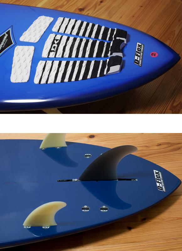 ADVANCED ミニロング6`10 EPOXY fin/tail bno96291084d