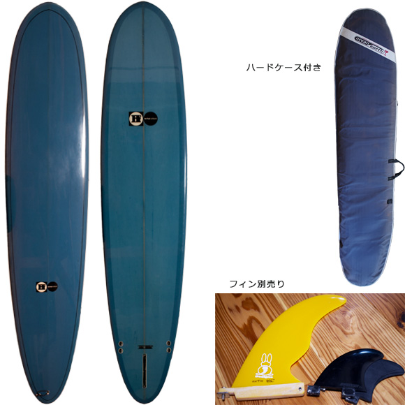 Hot Flash Surfboards 中古ロングボード 9`2 deck/bottom bno96291085a