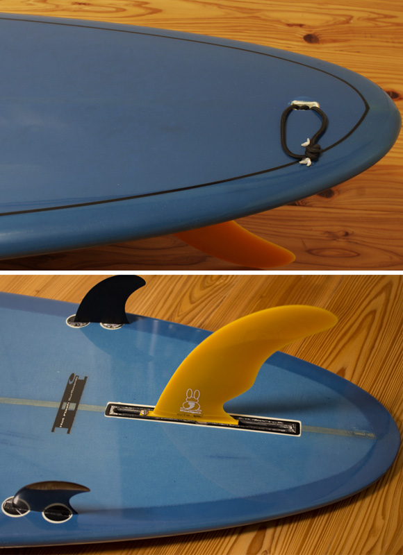 Hot Flash Surfboards 中古ロングボード 9`2 fin/tail bno96291085d