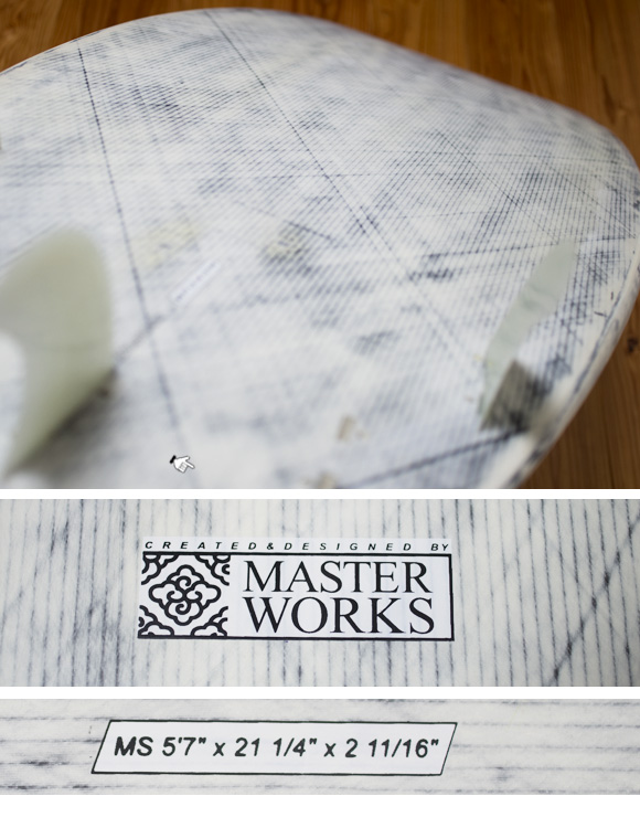 MASTER WORKS 中古ショートボード 5`7 condition bno96291088e