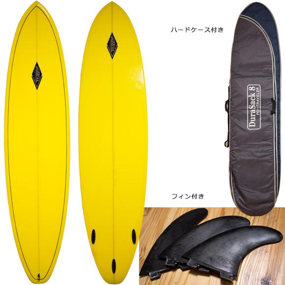 GODDESS 中古ファンボード 7`6 deck/bottom bno96291089a
