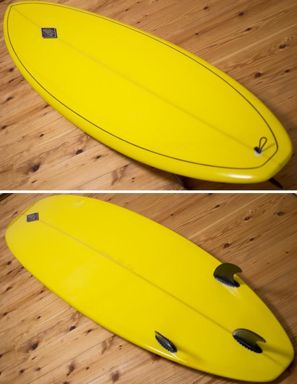 GODDESS 中古ファンボード 7`6 deck/bottom-detail bno96291089b