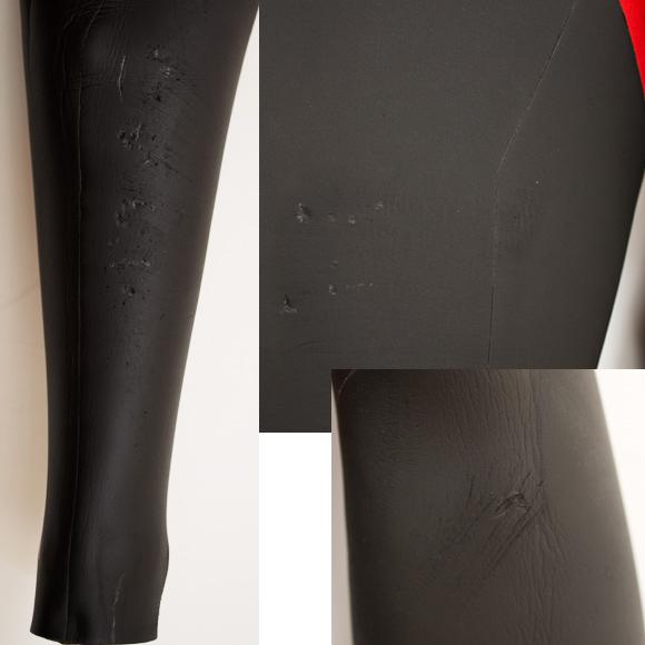 HURLEY 中古ウェットスーツ FREEDOM 5/3mm セミドライ メンズ repair bno96291095d