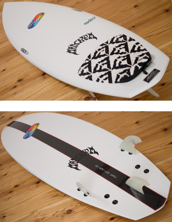 Placebo ROCKET 中古ショートボード 5`5 deck/bottom-detail bno96291096b
