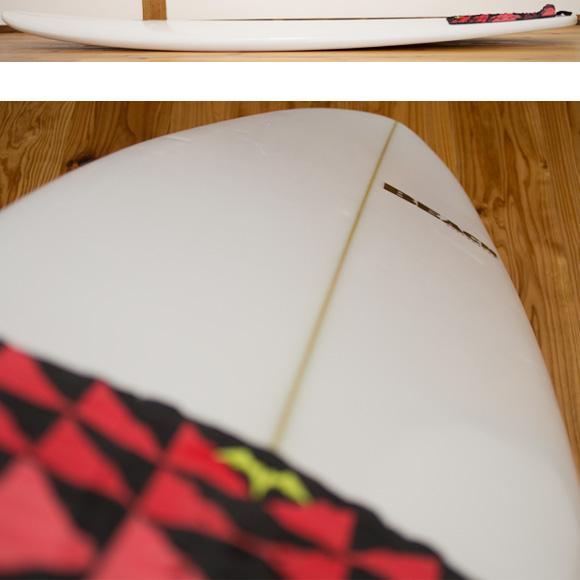 BEACH 中古ファンボード 6`4 deck-condition bno96291097c