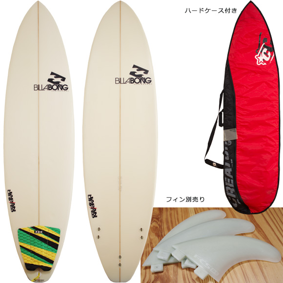 Billabong BJ-LIMITED 中古ファンボード 6`8 deck/bottom bno96291098a