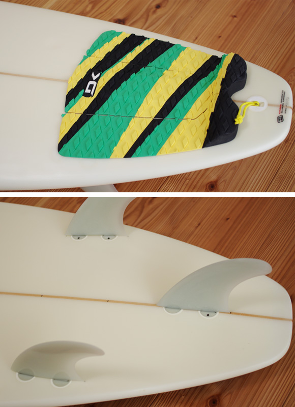 Billabong BJ-LIMITED 中古ファンボード 6`8 fin/tail bno96291098d