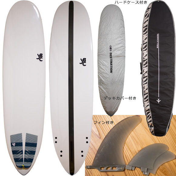 JBC / Jeff Bushman Concept 中古ファンボード 7`6 deck/bottom bno96291099a