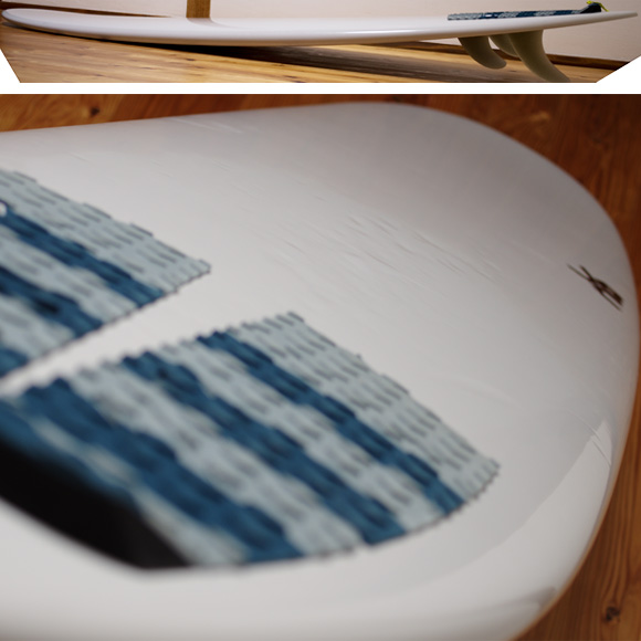 JBC / Jeff Bushman Concept 中古ファンボード 7`6 deck-condition bno96291099c