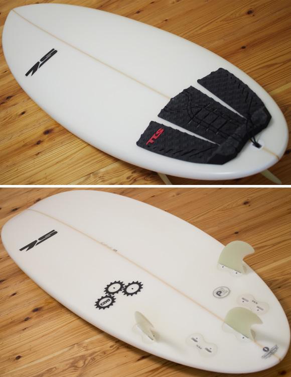 7S COG 中古ショートボード 5`6 deck/bottom-detail bno96291100b