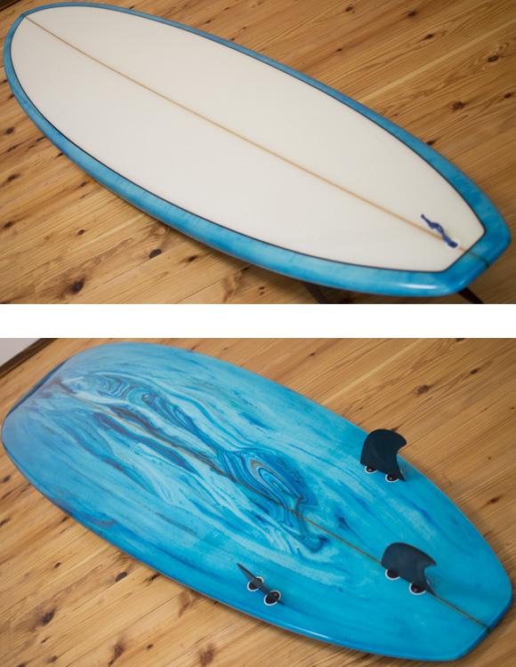 初心者向け 中古ファンボード 7`6 deck/bottom-detail bno96291101b