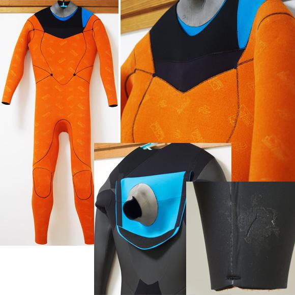 激安中古ウェットスーツ 5/3mm セミドライ condition bno96291104c