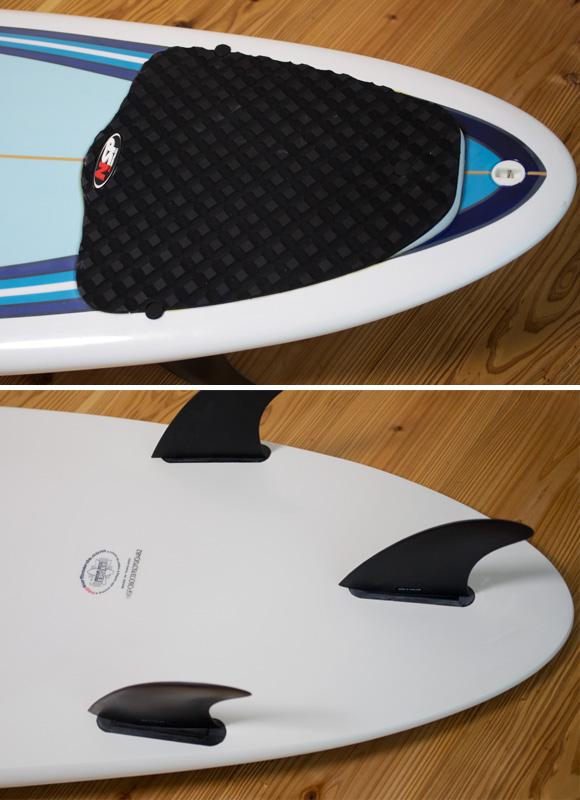 NSP 中古ファンボード7`6 EPOXY fin/tail bno96291108d