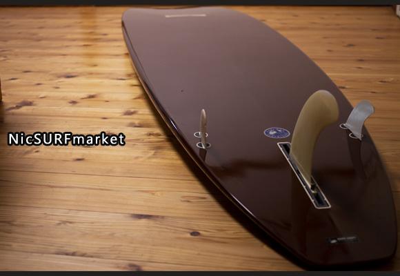 KONAMOON 中古ロングボード 9`6 bottom-design bno96291115im3