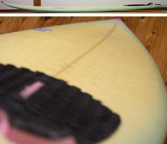 TM3 中古ショートボード6`4 deck-condition bno96291116c