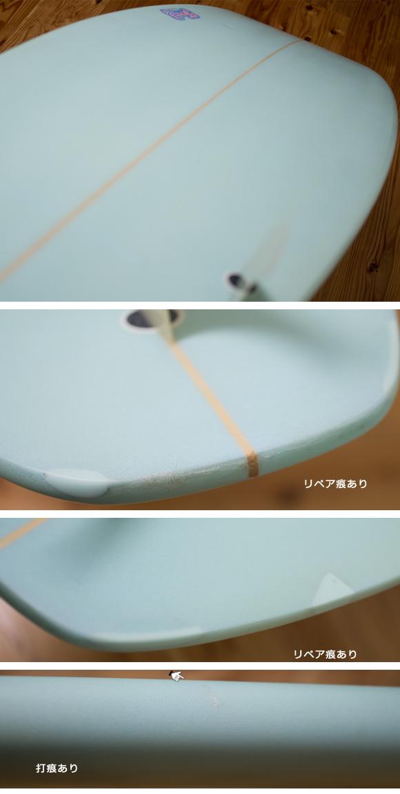 TM3 中古ショートボード6`4 condition/repair bno96291116e