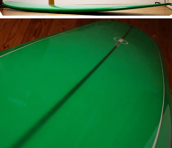 SECRET AKIRA MODEL 中古ロングボード 9`4 deck-condition bno96291118c