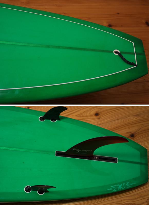SECRET AKIRA MODEL 中古ロングボード 9`4 fin/tail bno96291118d