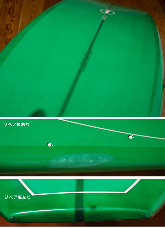 SECRET AKIRA MODEL 中古ロングボード 9`4 condition/repair bno96291118e