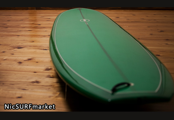 SECRET AKIRA MODEL 中古ロングボード 9`4 deck bno96291118im2