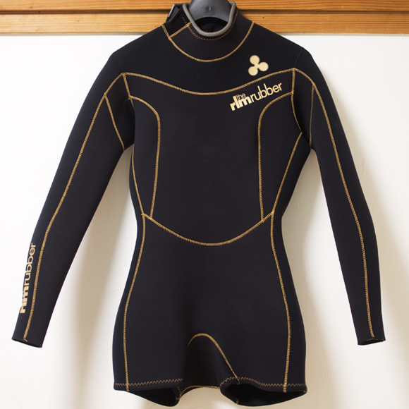 the rlm rubber 中古ウェットスーツ ロングスプリング Ladies front bno96291123a