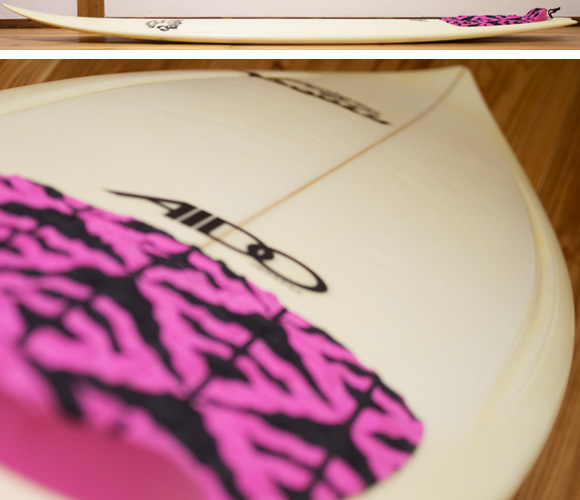 AIDO HORNET EPS 中古ショートボード 5`11 deck-condition bno96291126c