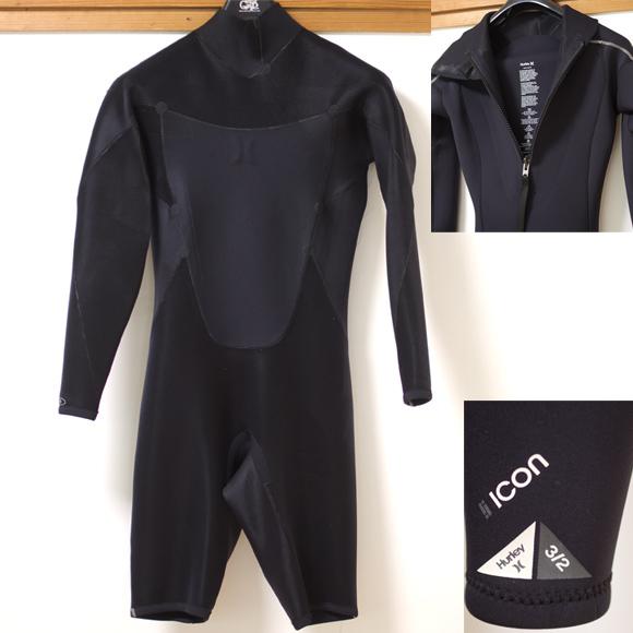 HURLEY 中古ウェットスーツ ロングスプリング ICON condition bno96291133c
