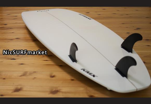 KLYMAXX エポキシ 中古ショートボード 6`3 bottom-design bno96291142im3