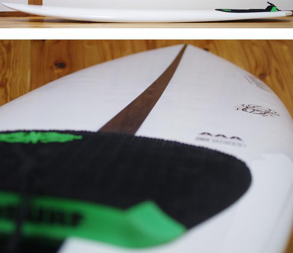DUALSHIFT SPEED RASER EPS 中古ショートボード 5`9 deck-condition bno96291145c