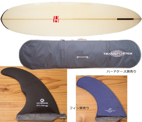 T-STICK 中古ファンボード bottom/ハードケース  7`6 bno96291146a