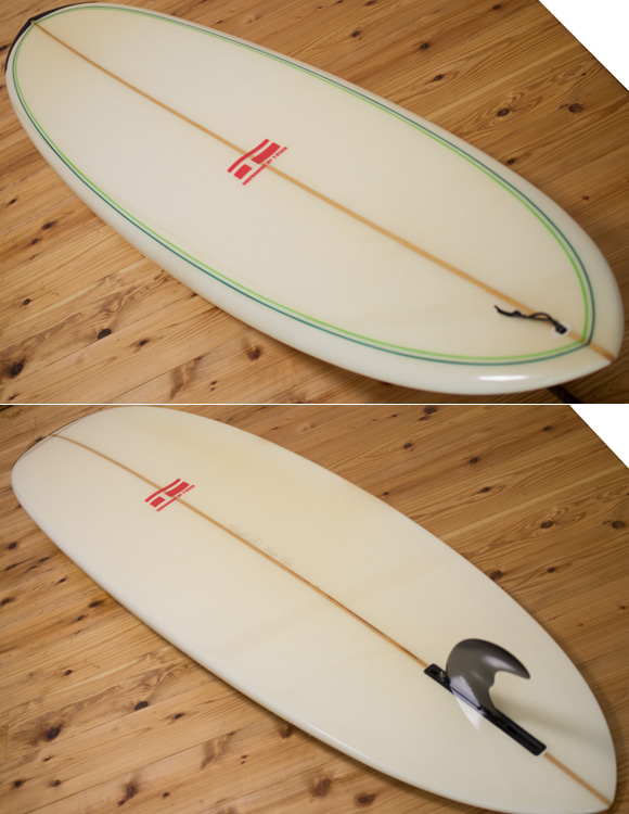 T-STICK 中古ファンボード 7`6 deck/bottom-detail bno96291146b