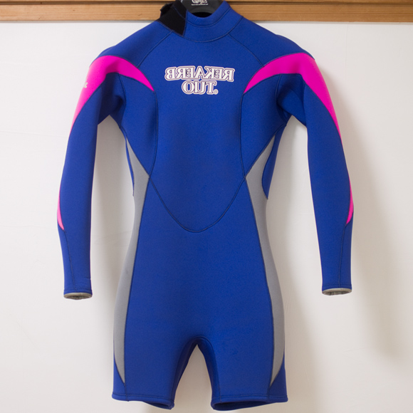 BREAKER OUT 中古ウェットスーツ ロングスプリング Ladies' FRONT bno96291147a