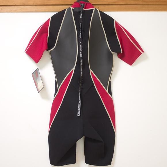 O'NEILL XS4D 中古ウェットスーツ スプリング back bno96291149b